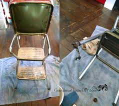 cosco chair stool my grandmas old step stool gets a much needed makeover before and after