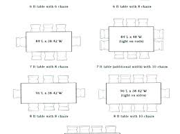 dining tables 8 seater dining table size seat dimensions person 6 for large images of