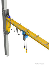 Free Standing Jib Crane Design Pin On Diy Jib Crane Complete 3d And 2d Cad Project With 3