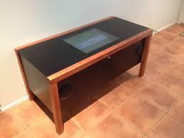 diy arcade coffee table al imgur end projects lounge furniture sets dresser feet dark oak lamp