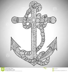 anchor with rope coloring pages cute anchor coloring pages on good page and navy army colori