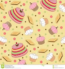 cake pattern wallpaper.  Pattern Seamless Wallpaper Pattern With Cakes Intended Cake Pattern Wallpaper A