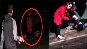 KILLER CLOWN PURGE 2016 FOUND IN BACKYARD ATTACKS US AND MY.