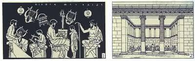 Воспитание в Древней Греции История Древнего мира Реферат  1 Школа Рисунок на древнегреческой вазе 2 Гимнасий Современная реконструкция