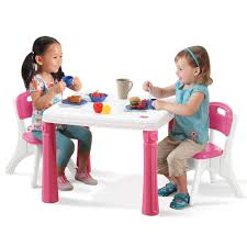 Plastic Table Chair Set Lifestyle Kitchen Table Chairs Set Kids Table Chairs Set Step2