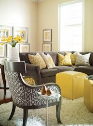 colorful living room furniture sets. Color Design Living Room Walls Yellow Stools Dark Sofa Colorful Furniture Sets