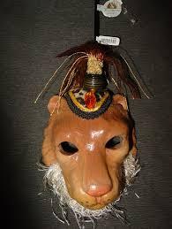 Jungel Maske Löwe Christbaumschmuck