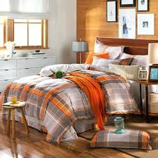 orange and brown bedding gray and orange comforter set orange and brown bedding