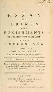 "cesare beccaria biography crime and punishment schoolworkhelper ""on crimes and punishment"" types of punishment"