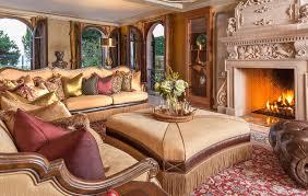 Michael Amini Living Room Set Victoria Palace Sectional Set By Michael Amini 2 Pc D2d