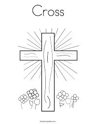 Small Picture Free Printable Cross Popular Cross Coloring Pages at Coloring Book