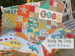 Totally Boy Crazy Quilt Riley Blake Tutorial &  Adamdwight.com
