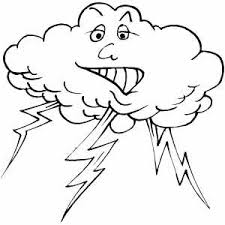 lightning coloring pages.  Coloring On Lightning Coloring Pages N