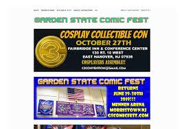 garden state comic fest website comic con
