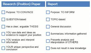 q what s the difference between a report and a research paper  answered by suzanne levasseur