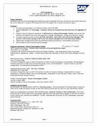 Sap Basis Administrator Resume Perfect Resume