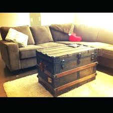 trunks for coffee tables wooden vintage trunk table furniture