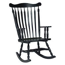 international concepts colonial rocking chair antique black wooden rocking chairs for