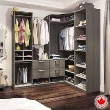 walk in closet furniture. Bestar - Cielo Grey Premium Walk-in Closet Walk In Furniture