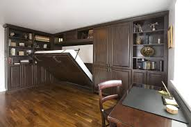 home office in basement. Basement Exercise Room Home Office Traditional With Wall Bed Designs Wallpaper And Covering Professionals In
