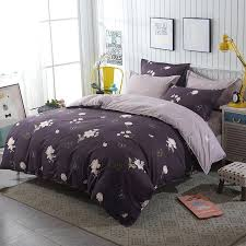 pink flamingo blue duvet cover set animal printed bird bedding full queen king cute girls bed bird bedding set