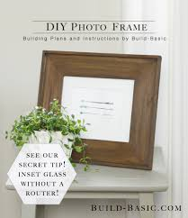 build a diy photo frame