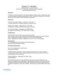 Entry Level Resume Objective Simple Medical Assistant Resume Objective Examples Entry Level Resume