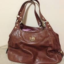 Authentic Coach Madison Maggie Medium leather bag