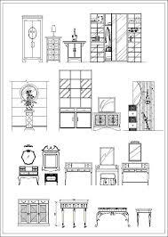 furniture elevation sofa elevation chair elevation cabinet elevation appliances library cad