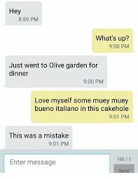 love memes and olive garden hey 8 59 pm what s up