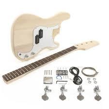 la electric bass guitar diy kit gkspb10 loading zoom