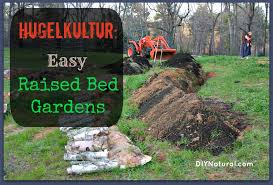 hugelkultur is essentially making raised garden beds using wood logs as a base the word hugelkultur roughly translates to hill culture