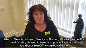 Melanie Johnson: Year of the Nurse and Midwife - YouTube