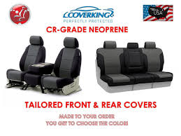 coverking neoprene front rear seat covers for toyota tundra 2007 2016