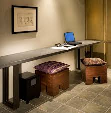 narrow office desk. long office desk remarkable narrow computer alluring home design