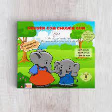 Sách rèn luyện kỹ năng cho bé từ 0 - 8 tuổi - Truyện Tranh Chuyện cỏn  chuyện con - tập 1 (Voi Con Tinh Nghịch)