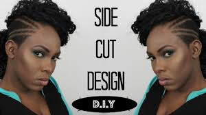 Side Cut Designs Diy Side Cut Design Flairelle