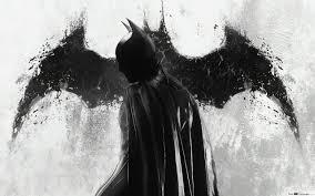 All Black Batman HD wallpaper download