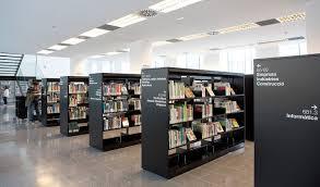Environmental Design Library Environmental Graphics For Biblioteca Central De