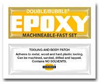 Hardman Epoxy Chart Single Service Packet Hardman Double Bubble Variety Pack