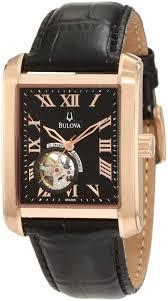 men gold watches bulova men s 97a105 bva series 160 gold watches for men bulova