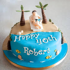 80th Birthday Cake Ideas Male Cakes Images For Men Lounging On The