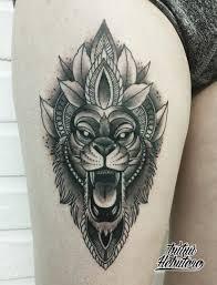значение татуировки лев на руке плече эскизы 125 фото