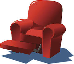 recliner chairs clip art.  Art Recliner C Vector Art Illustration On Chairs Clip Art I