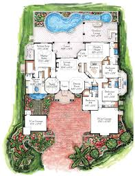 435 Best Floor Plans Images On Pinterest  House Floor Plans Luxury Custom Home Floor Plans