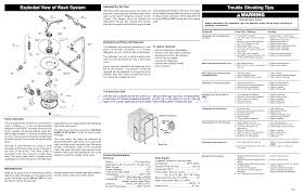 frigidaire dishwasher ffbd2411ns wiring diagram