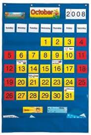 Yellow Calendar Pocket Chart Details About Playmonster Lauri Calendar Pocket Chart English Spanish