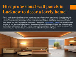 List Of Interior Designer In Lucknow Wall Panels In Lucknow By Grotal Issuu