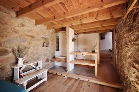stone house furniture. rustic stone house with pine wood ceiling furniture