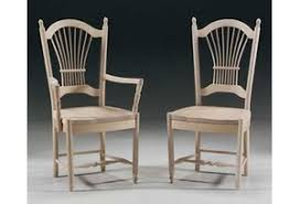 sheafback style unfinished chairs